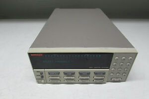 Keithley 7001 Switch System W 7020 7018 s Modules