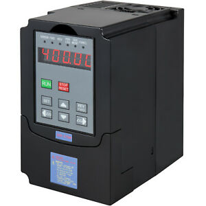 Varible Frequency Drive Inverter Vfd 0 75kw Ac 220v Speed Controller Usa Stock