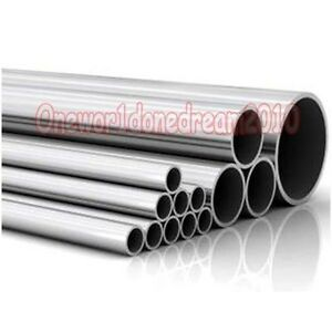 2x Titanium Grade 2 Tubes Tubing Od 60mm X 58mm Id Wall 1mm Length 50cm Each