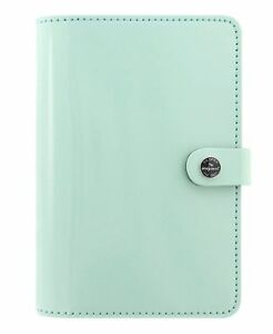 Filofax The Original Personal Size Leather Organizer Agenda Weekly Planner No