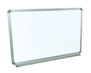 Luxor Wb3624w 36 X 24 Wall mounted Whiteboard With free Whiteboard Cleaner