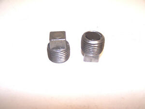 Muncie 4 Speed Magnetic Fill And Drain Plugs Free Shipping
