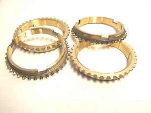 Muncie 4 Speed 1966 And Later Synchronizer Rings Free Shipping