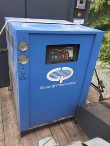 General Pneumatics Compressed Refrigerated Air Dryer 460v R22 250 Psig Can Ship