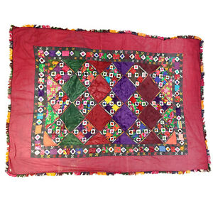 Uzbek Tribal Hand Embroidered 98 X 68 Inch Suzani Textile 783b6 Free Shipping