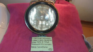 Macbeth evans Genuine Vintage Headlight Assembly Type d 4768 Free Shipping