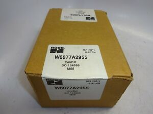 Ross W6077a2955 Solenoid Valve 4way 3position 24vdc