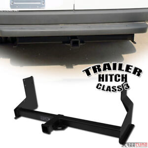 Class 3 Matte Blk Trailer Hitch Receiver Tow Towing For 07 16 Sprinter Cargo Van