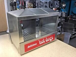 Star 35ss Hot Dog Bun Warmer Steamer Machine Roller Machine Concession