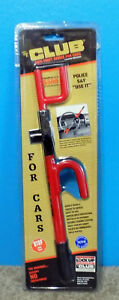 New The Club Anti theft Device Steering Wheel Lock Free Shipping