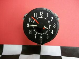 1973 Pontiac Firebird Rally Clock