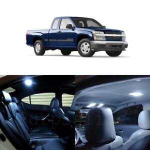 12 X White Led Interior Light Kit For 2004 2012 Chevy Chevrolet Colorado Tool