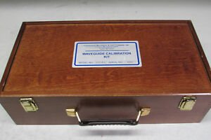 Continential Microwave Wck62 hp d Waveguide Calibration Kit
