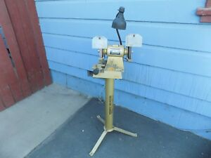 Darex Drill Sharpener With Darex Stand 1 3 Hp 3450 Rpm 4 2 Amps Made In Usa