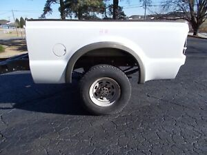 Hh F250 Oxford White Short Bed Rust Free Southern Bed 99 2010 Style Super Duty