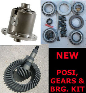Gm Chevy 12 Bolt Car Eaton True Trac Posi 3 73 Gears Master Bearing Kit