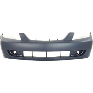 Front Bumper Cover For 2001 2003 Mazda Protege W Fog Lamp Holes Primed