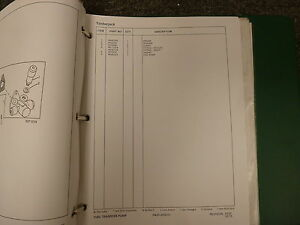 Timberjack 60 Series 360 460 560 660 C D E Skidder Parts Catalog Manual Book