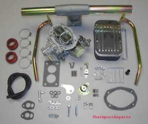 Vw Bug Super Beetle Dunebuggy Weber Carburetor Kit W Genuine Weber Dual Port