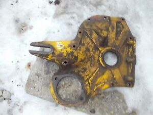 International Cub 154 Low Boy Tractor Ih Ihc Engine Motor Front Cover Panel