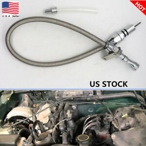 Flexible Stainless Transmission Dipstick Fit Chevy Gm Th350 Tranny Sbc Bbc Trans