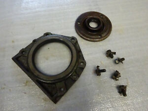 John Deere M 40 420 Engine Crank Seal Plates With Retainer Locks
