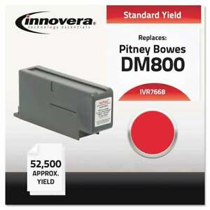 Innovera Compatible 766 8 Postage Meter Ink Red 686024123026