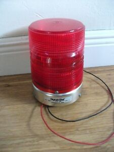 Vintage Signal stat 337 Emergency Red Beacon Light Police Emergency Fire