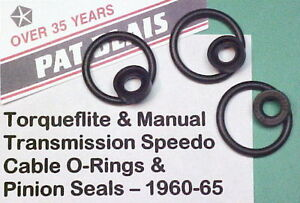 Torqueflite 727 904 Manual Transmissions Speedo Cable Seals 1960 To1965 Most