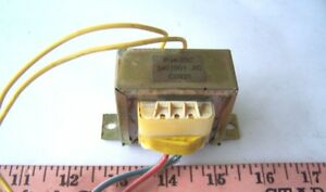 Small Transformer 4 Wire Leads Used Tested Ok