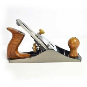 Big Horn 19316 9 inch Adjustable Smoothing Bench Jack Plane No 4 With 2 Cutter