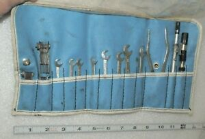 Ignition Wrench Tool Set 13 Pieces Wrenches Pliers Very Nice Cond Usa