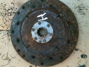 Farmall Ih H Hv Early Sh Tractor Engine Flywheel Clutch Pressure Plate Disk