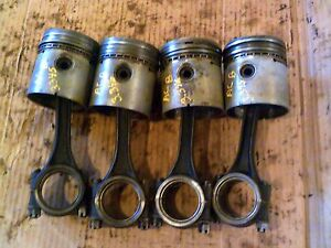 Allis Chalmers B Ib Tractor Ac Engine Motor Pistons Rings Rod Piston Ring Rod