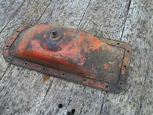 Allis Chalmers B Ib Tractor Original Ac Real Nice Engine Oil Pan