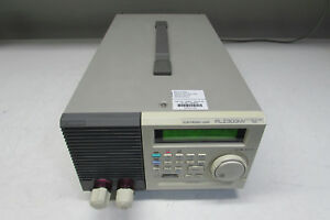Kikusui Plz303w 300 Watt Electronic Load 10v And 60a Just Calibrated