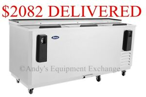 80 6 Feet 8 Inch Back Bar Bottle Cooler Chiller Refrigerator Beer Bottles Nsf