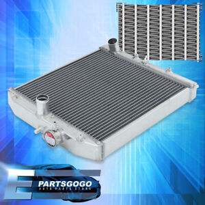 96 98 99 00 Honda Civic Ek D15 D16 B16 42mm Twin Core Manual Aluminum Radiator