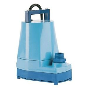 Little Giant 505000 5 Msp Submersible Utility Pump
