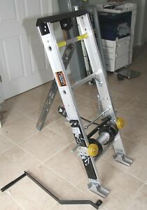 Tranzsporter Tp250 Manual Ladder Roof Shingle Lift Hoist Base Only 250 Lbs