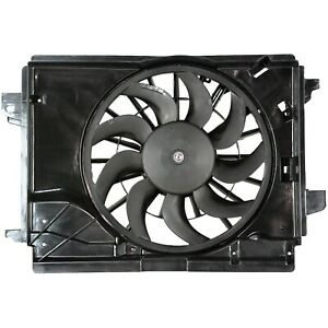 Radiator Cooling Fan For 2005 2011 Chevrolet Corvette 2005 2009 Cadillac Xlr