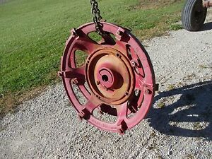 Farmall Super H Tractor Ih Cast Wheel Hub Center Centers Mounting Wedge Block