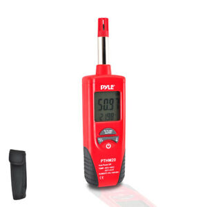 Pthm20 Temperature And Humidity Meter With Dew Point Wet Bulb Temperature