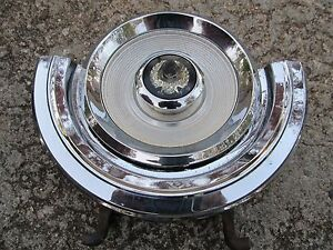 Fuel Door 1967 1968 1969 Chrysler Imperial Chrome Nice