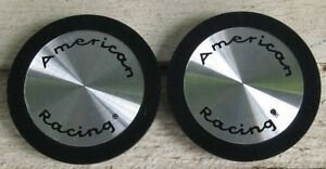 Nos 1970 s 1980 s Vintage American Racing Center Hub Caps 898032 2 T1a