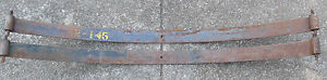 Nos Nors Main Leaf Spring Pair Ford 1941 Truck Delivery 19a 5560c 42 145