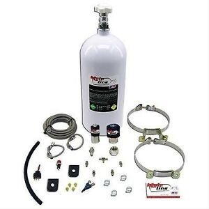Nx Nitrous System Mainline Wet 50 150 Hp 10 Lb Bottle White Efi Kit Ml2000