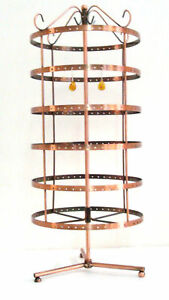 288 Holes Rotating Earrings Display Stand Rack Holder