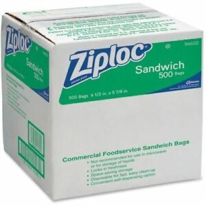 Ziploc Resealable Sandwich Bag 94600