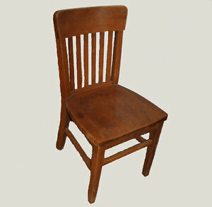 Antique Oak Office Chair Mission Style Arts Crafts